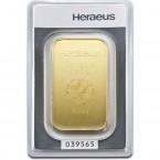 Lingou din Aur 100g   Heraeus Lingou Aur