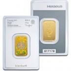 Lingou din Aur 10g cu holograma   Heraeus Kinebar Lingou Aur