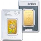 Lingou din Aur 20g cu holograma   Heraeus Kinebar Lingou Aur