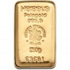 Lingou din Aur 250g   Heraeus Lingou Aur
