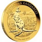 Australia Nugget / Kangaroo, 1/4 oz Gold, 2014