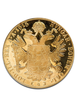 Austria 4 Ducați Aur Ediție Nouă