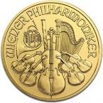 Austria Vienna Philharmonic 1/10 oz Gold  2012