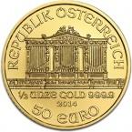 Austria Vienna Philharmonic 1/2 oz Gold 2014