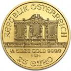 Austria Vienna Philharmonic 1/4 oz Gold 2014