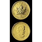 Canada Maple Leaf 1/4 oz Gold 2013