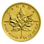 Canada Maple Leaf 1/4 oz Gold 2014
