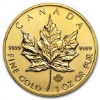 Canada Maple Leaf 1 oz Gold 2013