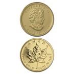 Canada Maple Leaf 1/20 oz Gold 2013