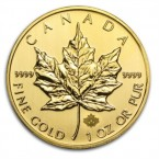 Canada Maple Leaf 1 oz Aur 2014
