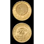 Mexico 20 Mexican Peso Gold