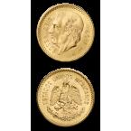 Mexico 10 Mexican Peso Gold
