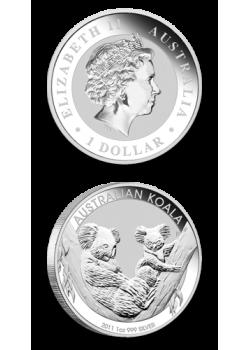 Australia Koala 1 oz Argint 2011