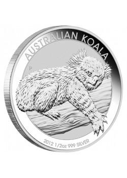 Australia Koala 1/2 oz Argint 2012