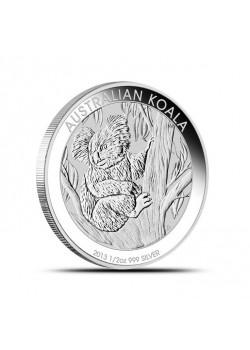 Australia Koala 1/2 oz Argint 2013