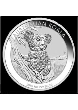 Australia Koala 1 oz Argint 2015