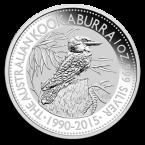 Australia Kookaburra 1 oz Argint 2015