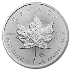 Canada Frunză de Arțar 1 oz Argint 2017