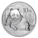 China Panda 1oz Argint 2015