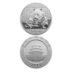 China Panda 1oz Argint 2012