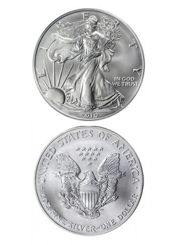 SUA American Eagle 1 Dolar 1 oz Argint 2013