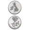 United Kingdom English Rose 1 oz Silver 2012